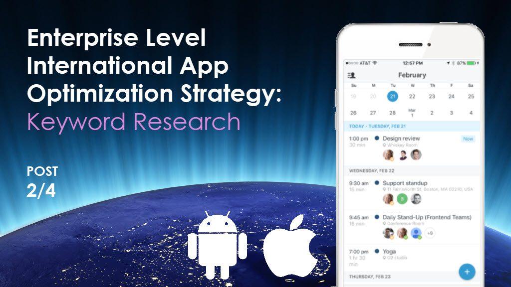 Enterprise-Level International ASO in iTunes App Store