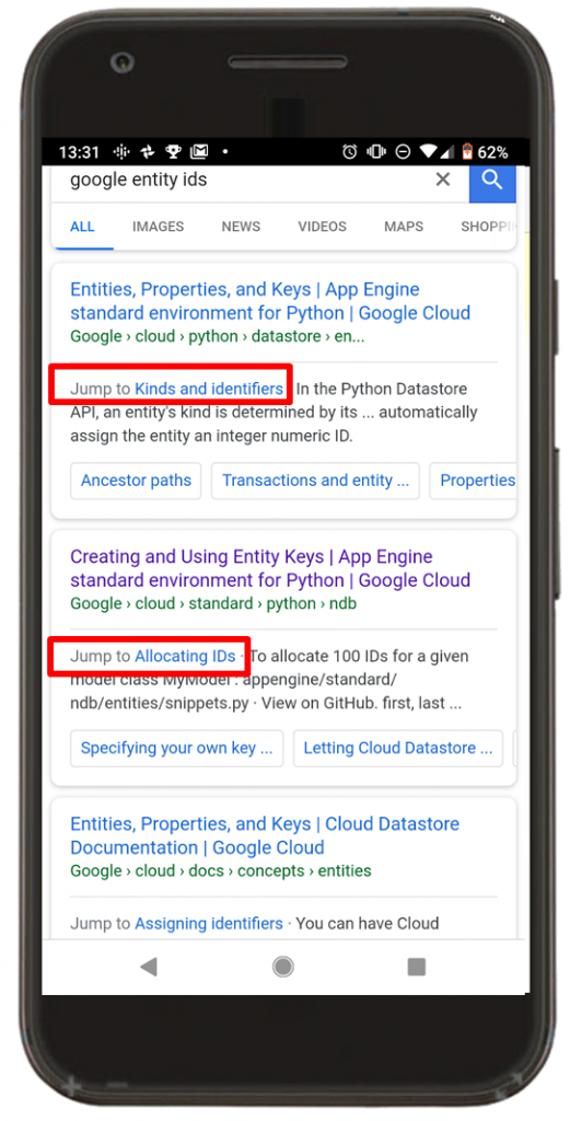 Is Mobile-First Indexing really Entity-First Indexing? Yup! Details