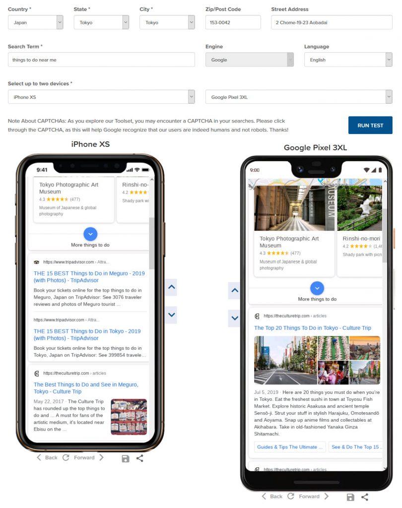 MobileMoxie SERPerator-Free Google Mobile Search Result Checker