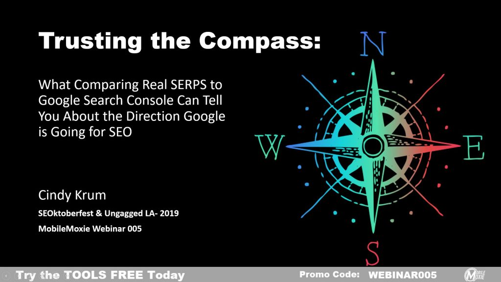 Mobile-First Indexing in SEO - Trusting The Compass - Comparing Real Mobile Search Results with Google Search Console