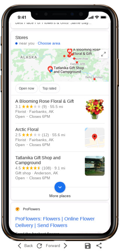 Testing Mobile Map Pack Rankings for SEO