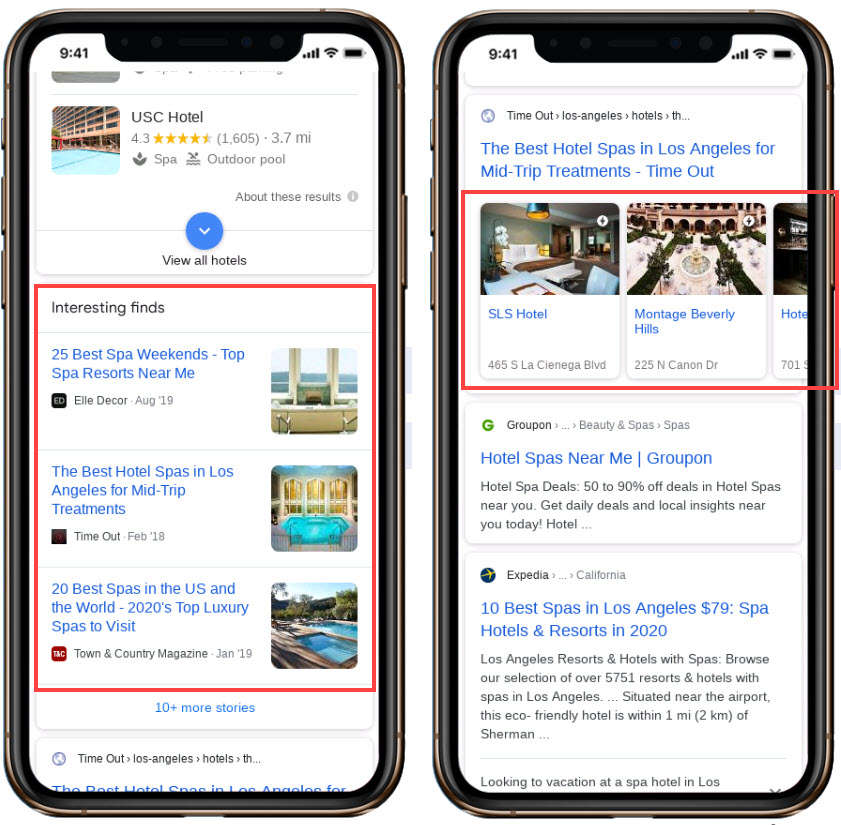 Hotel Interesting Finds And Site Carousels
