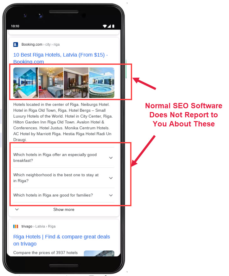 Reporting on Hotel Rankings in SEO
