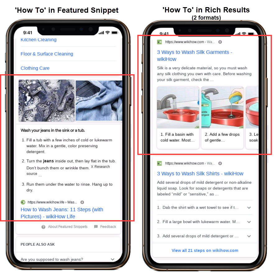 How To Rich Results and Featured Snippets in Google