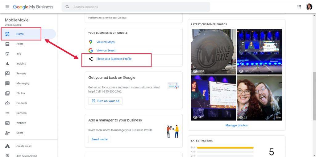 Static URLs for Google My Business Profiles (GMB)